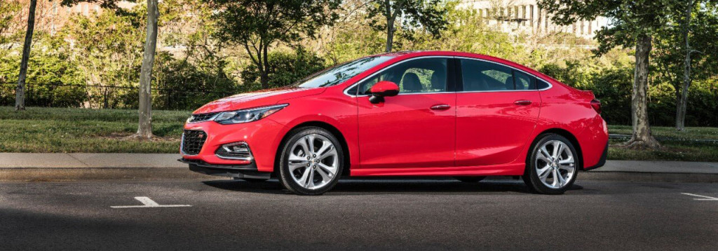 2016 Chevy Cruze red