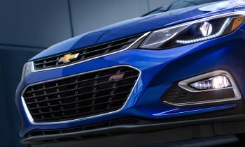 2016 Chevy Cruze blue