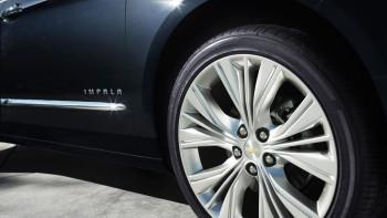 Chevy Impala Wheel Closeup