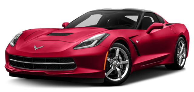 2017 Chevy Corvette Red