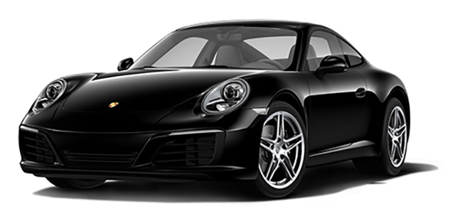 2017 Porsche 911 Black