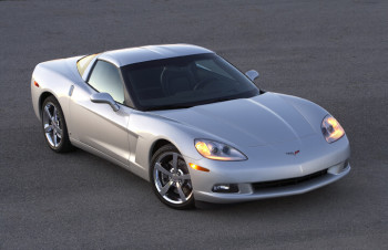 2010 Chevy Corvette Silver