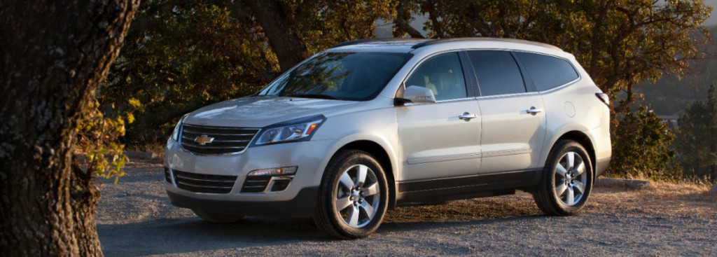 2014 Chevy Traverse Parked