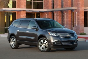2015 Chevy Traverse Black