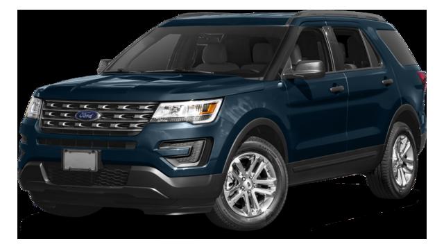 2017 Ford Explorer Blue