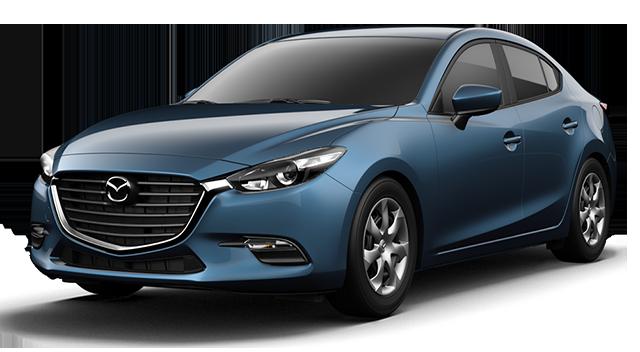 2017 Mazda3 Blue