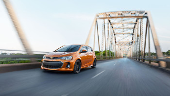 2017 Chevy Spark Orange