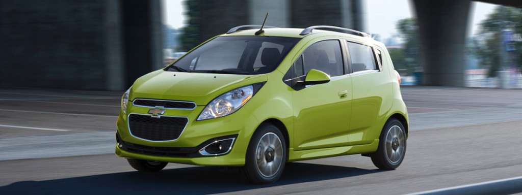 2015 Chevy Spark Green