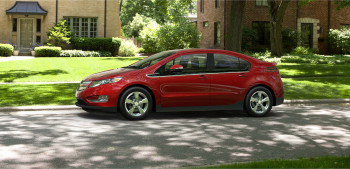 2015 Chevy Volt Red