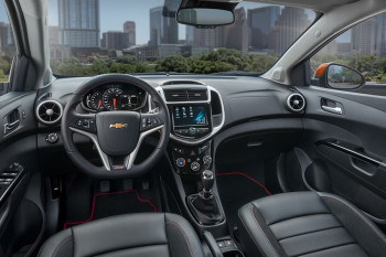 2017 Chevy Sonic Interior