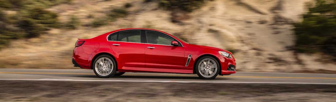 2014 Chevy SS Red