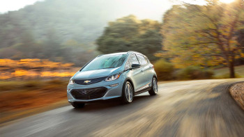 2017 Chevy Bolt Driving