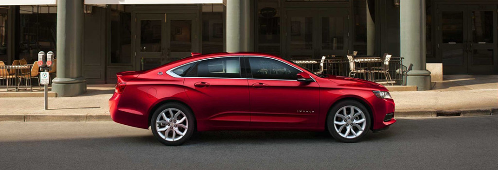 2017 Chevy Impala Red
