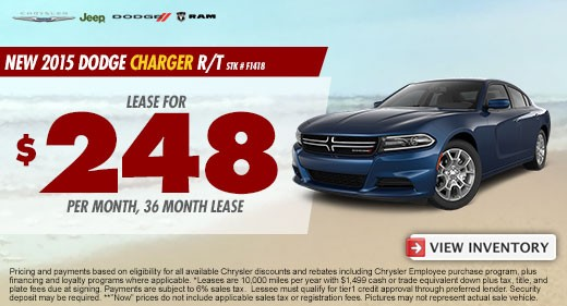 dodge charger promo