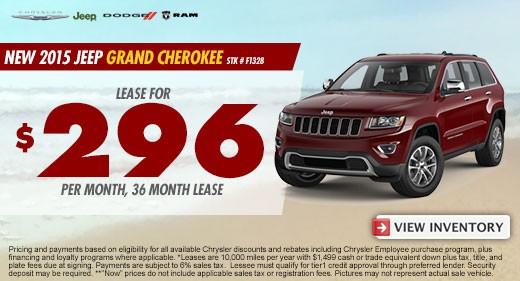 grand cherokee promo