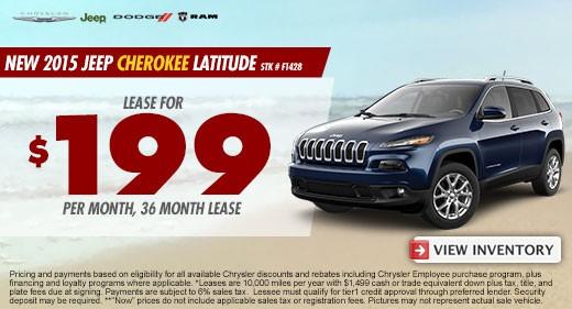 jeep cherokee latitude promo