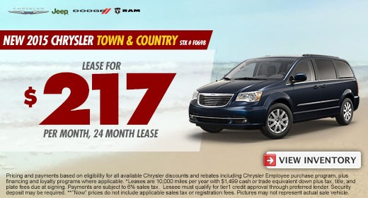 town and country promo