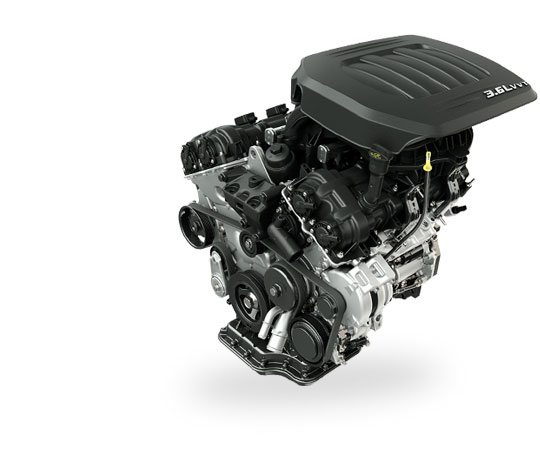 2015 Dodge Grand Caravan Engine