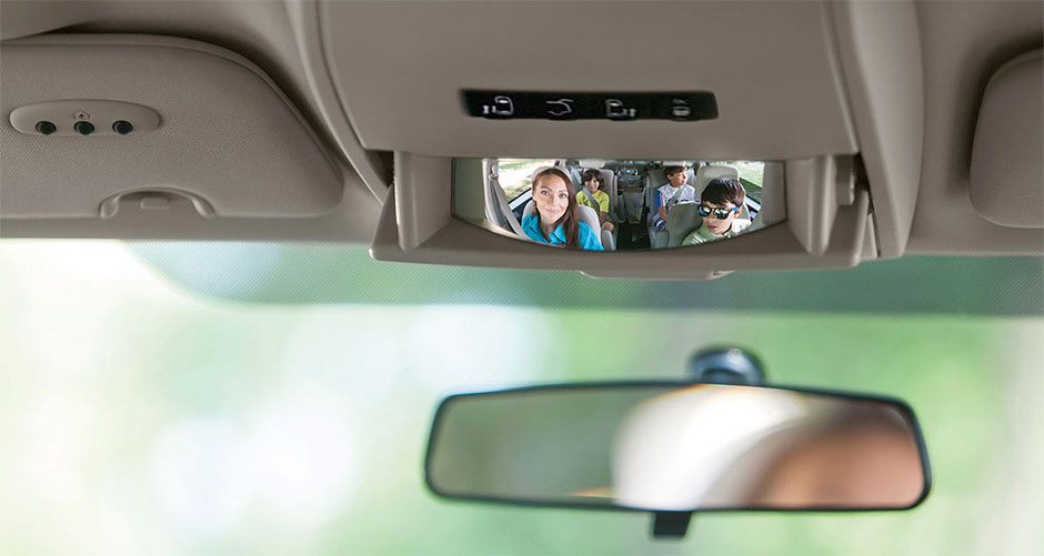 2015 Caravan Safety Mirror