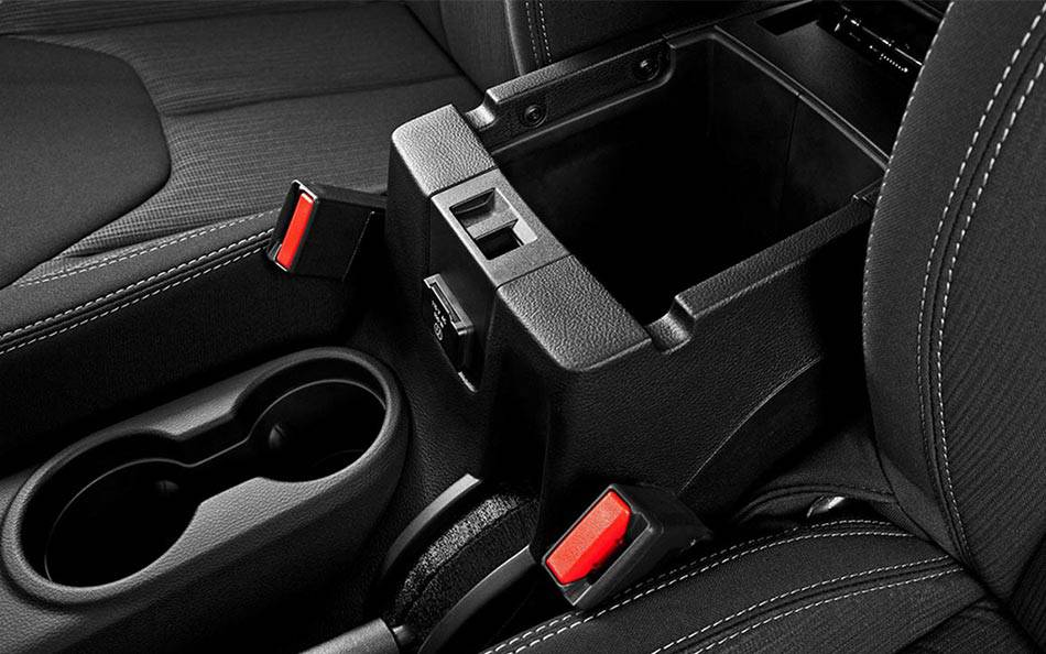 2015 Jeep Wrangler Unlimited Storage Interior