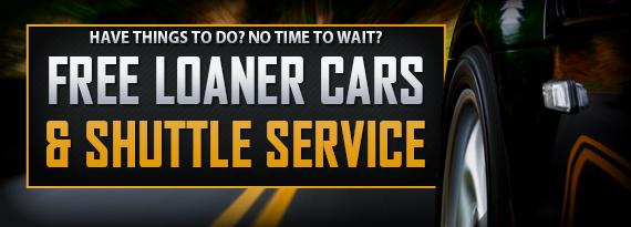 Free Loaner Car - Audi loaner car