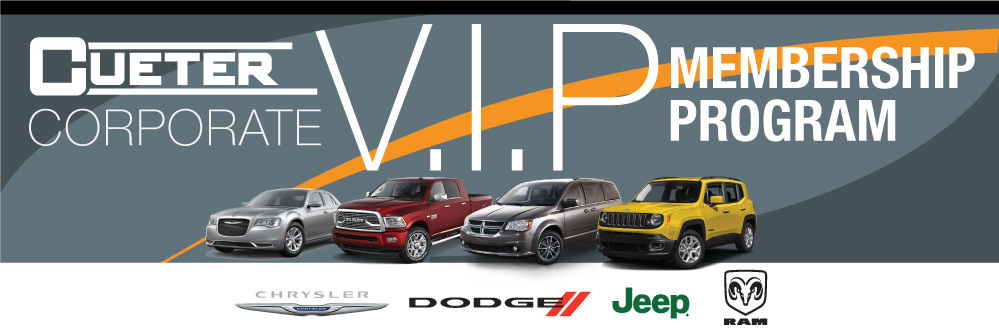 Cueter Chrysler Jeep Dodge Ram Is Excited To Offer All University Of  Michigan Students And Faculty Our V.I.P Membership Program.