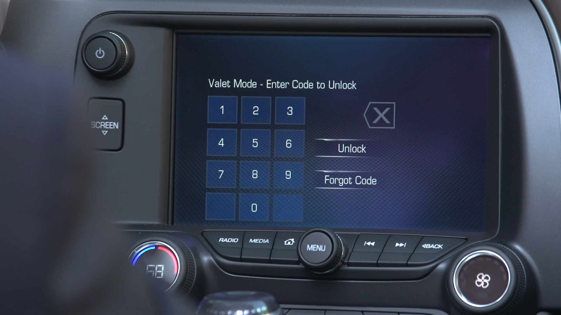 Corvette Valet Mode Introduced On 2015 Models