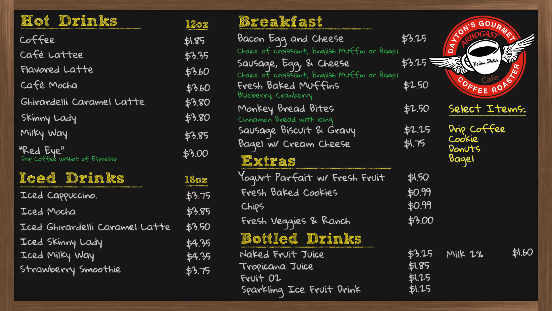 Boston Stoker Menu 1