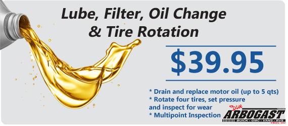 Oil Change Special | Dave Arbogast Buick GMC
