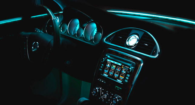 Buick S Use Of Ambient Lighting In Luxury Vehicles