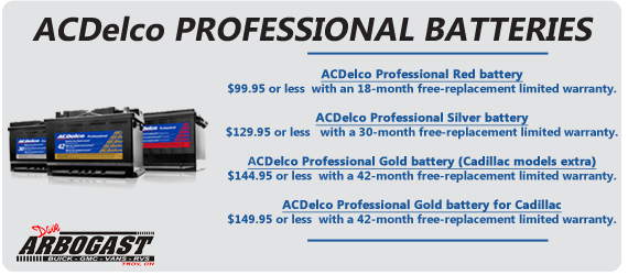 AC Delco Batteries |Dave Arbogast Buick GMC