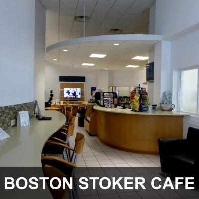 Boston Stoker Cafe at Dave Arbogast