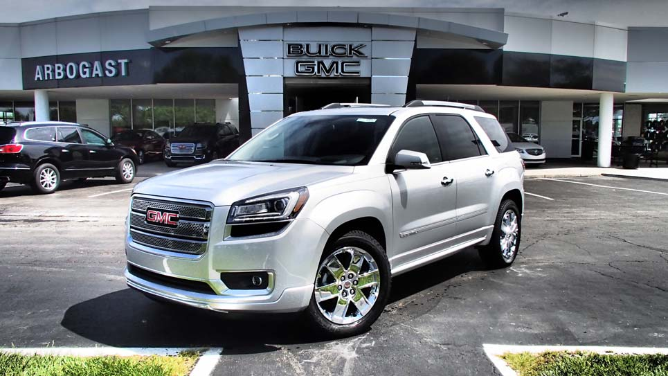 2016 gmc acadia denali review. Black Bedroom Furniture Sets. Home Design Ideas