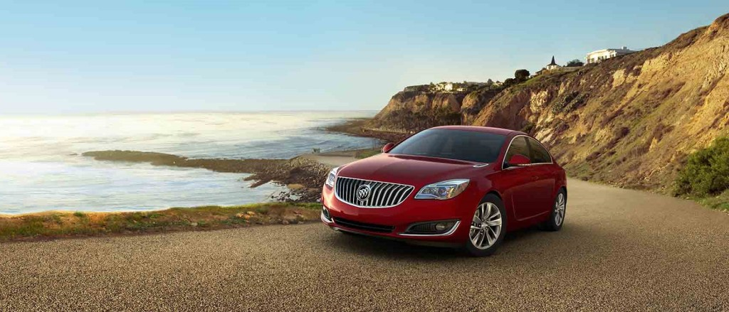 2016 Buick Regal Red