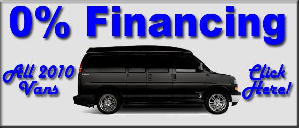 0 Financing 2010 Vans