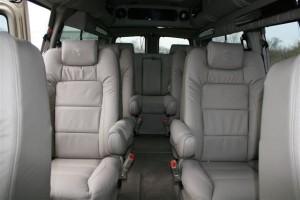 9 Passenger Interior