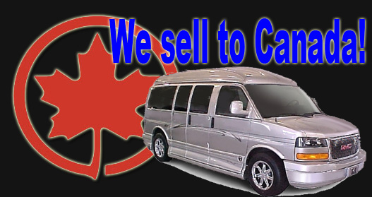 We Sell Conversion Vans To Canada
