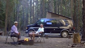 Conversion Van Camping