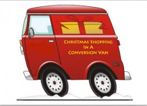 Conversion Van Christmas Shopping