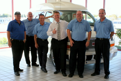 Conversion Van Sales Team