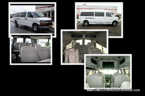 Conversion to a 9 Passenger Van