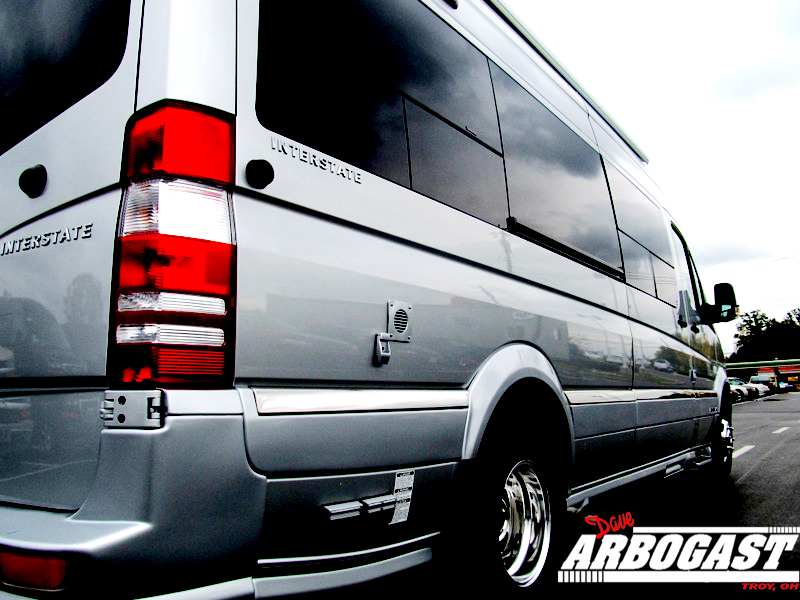 Most Luxurious Class B Motorhome Airstream Interstate