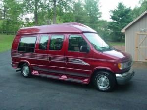Spring Conversion Van