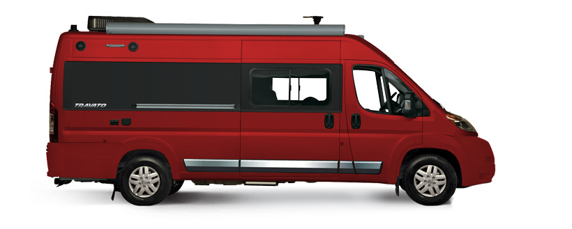 Winnebago travato exterior