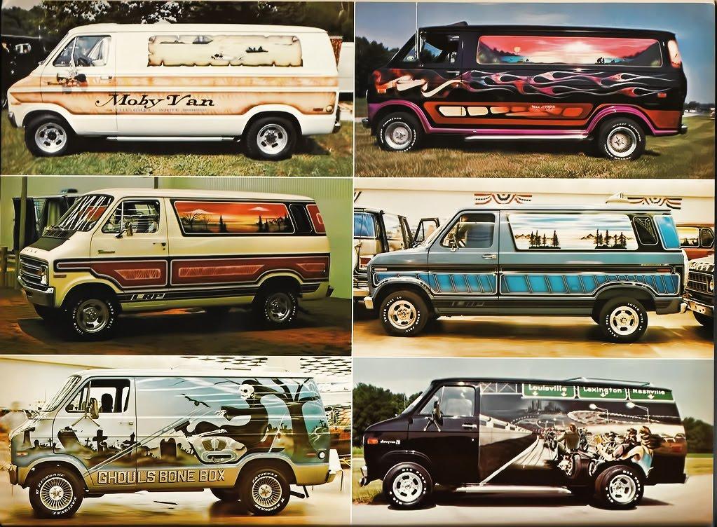 Conversion Vans Artwork On Wheels