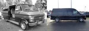 old conversion van