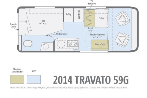 winnebago travato specs