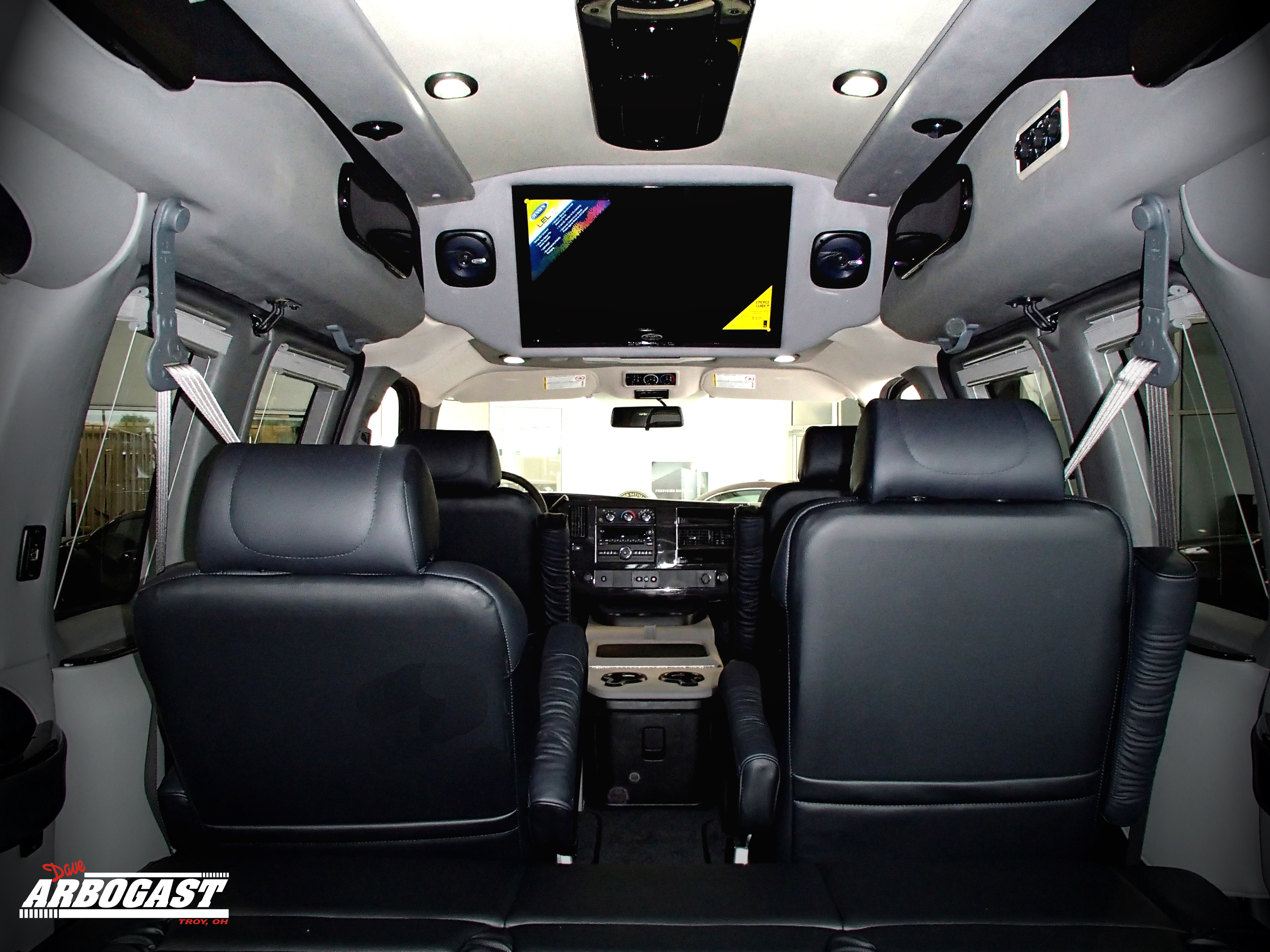 The Seats Often With Leather Upholstery Are So Comfortable You May Not Want To Leave Van Many Swivel Offer Flexible Arrangements For