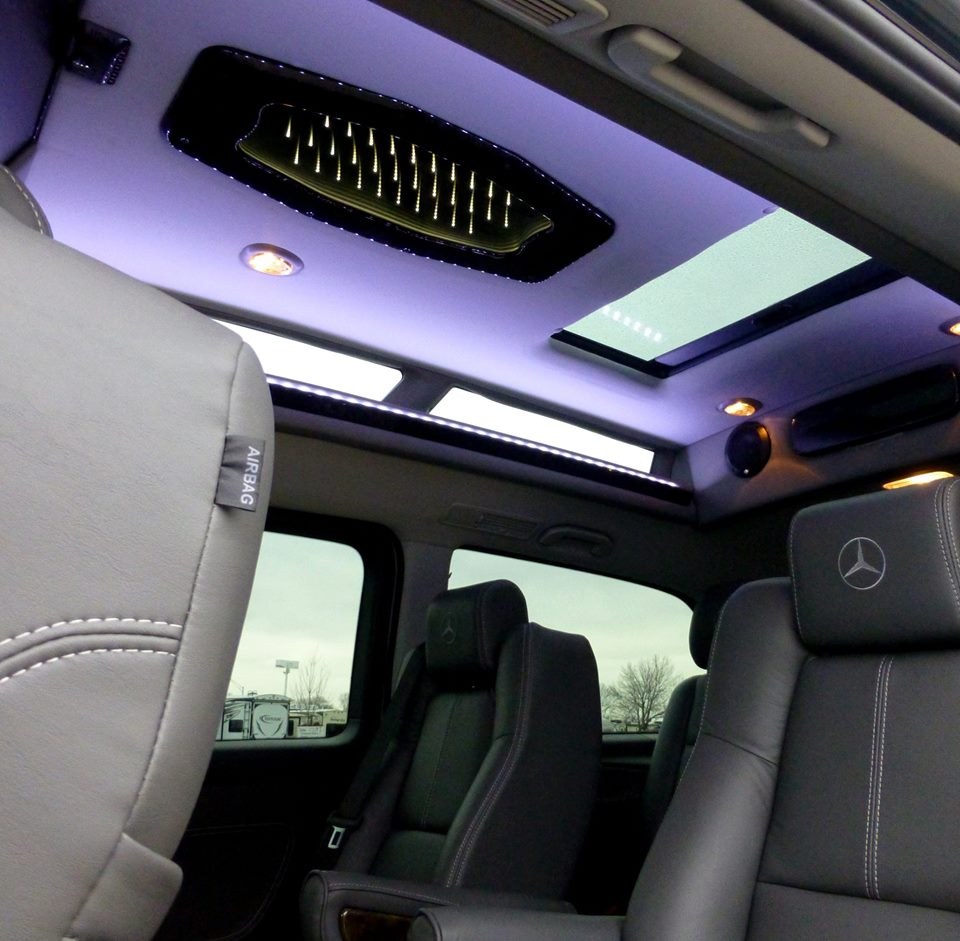 Metris Conversion Van Interior