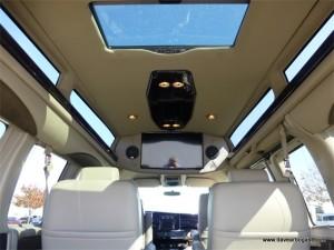 2016 Explorer Conversion Van Interior